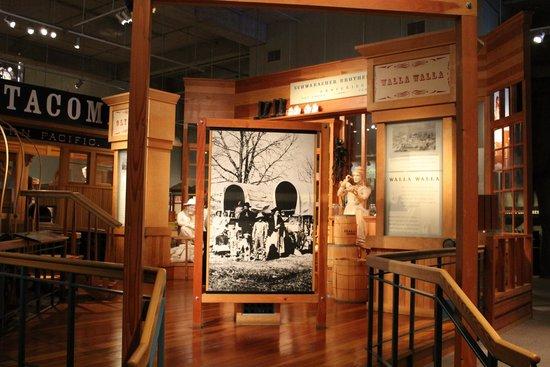 Washington State History Museum: Displays