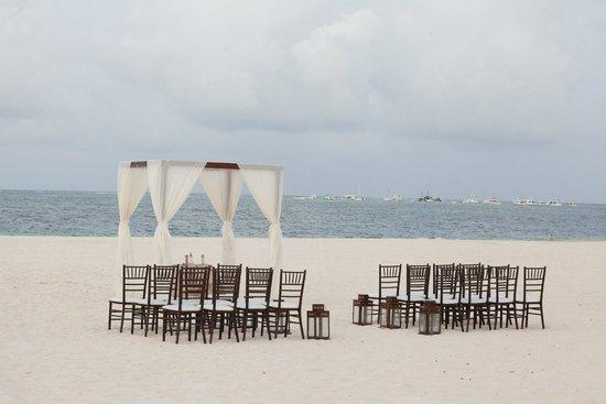 Paradisus Palma Real Golf & Spa Resort : Ceremony