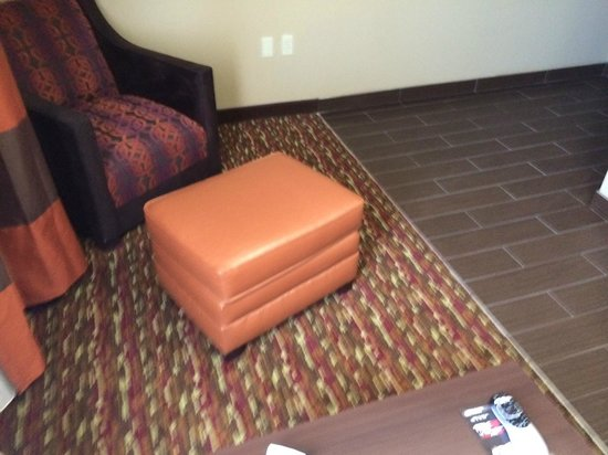 Comfort Inn & Suites Artesia: Living room