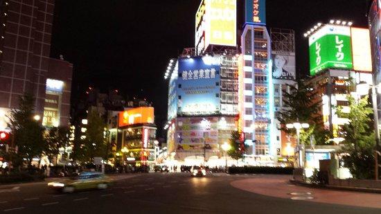 Shinjuku Prince Hotel: view from the windows