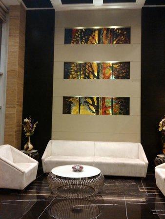 Hotel City Star: hall