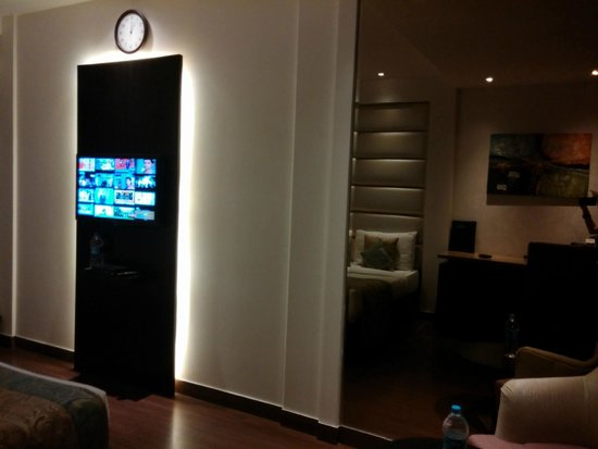 Hotel City Star: habitacion