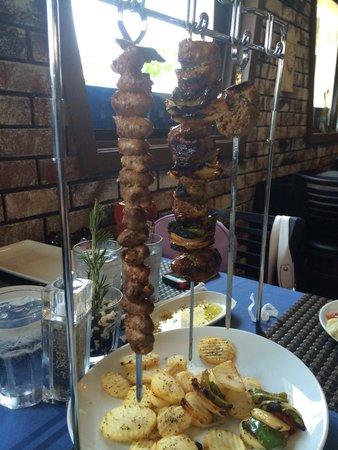 Galazio Restaurant: The new Kebabs!