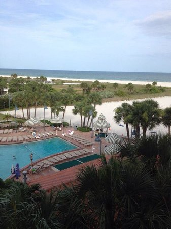 Sheraton Sand Key Resort: View from the room