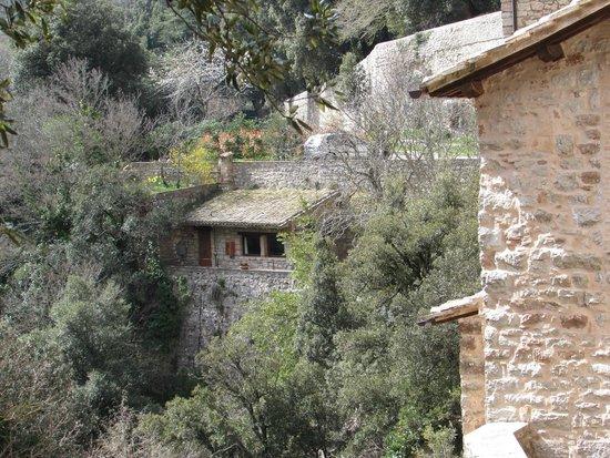 Eremo delle Carceri: A view from the Carceri