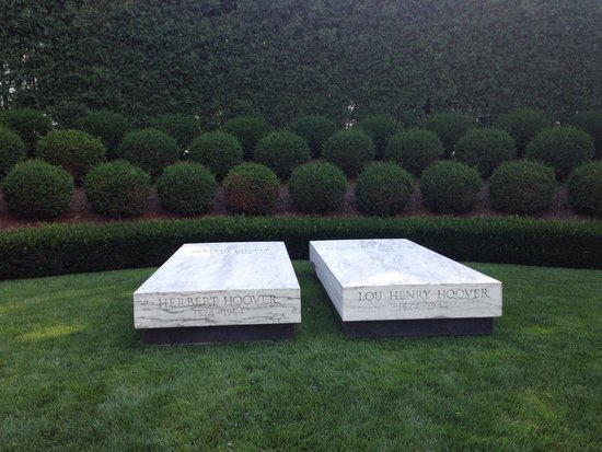 Herbert Hoover National Historic Site: Resting place.   So peaceful