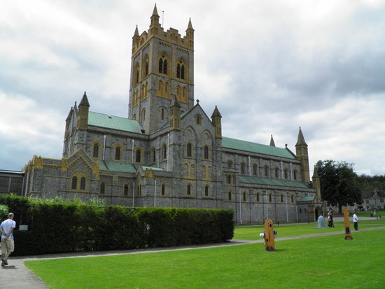 Buckfast Abbey : Another outside view.