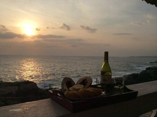 Sun Set Point Hotel: УЖИН НА БОЛКОНЕ
