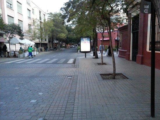 Barrio Lastarria: Street Scene