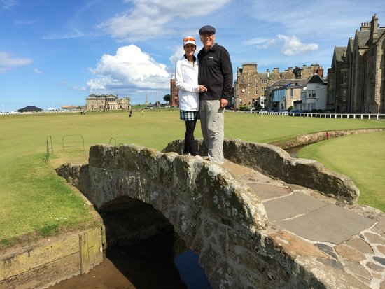 St Andrews Links: The Old Course at St Andrews. Priceless!