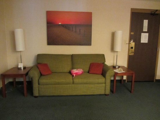 Country Inn & Suites By Carlson, Traverse City: Our room
