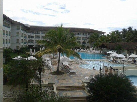Sauipe Resorts: Vista da recepção da piscina 1