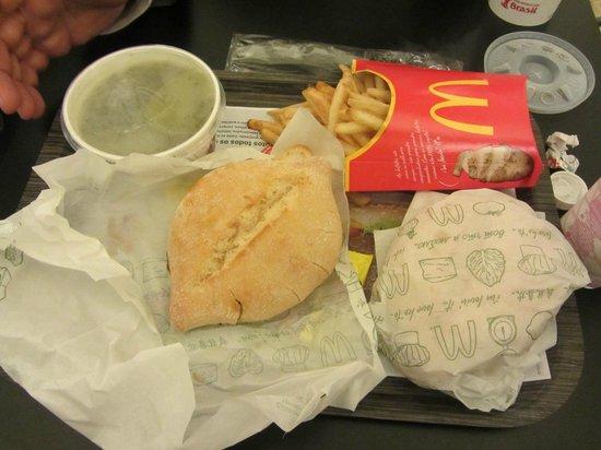 McDonalds Porto : McBifanas