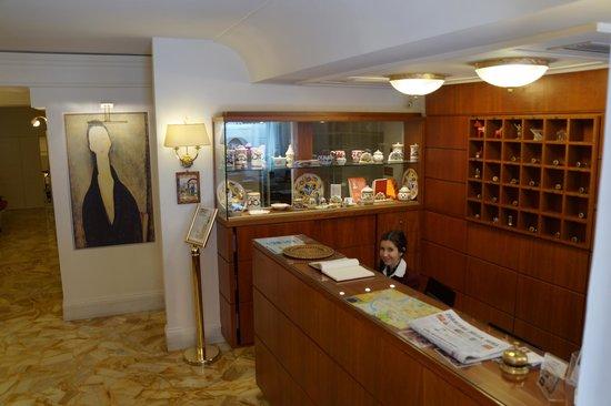 Hotel Modigliani : Friendly, obliging staff