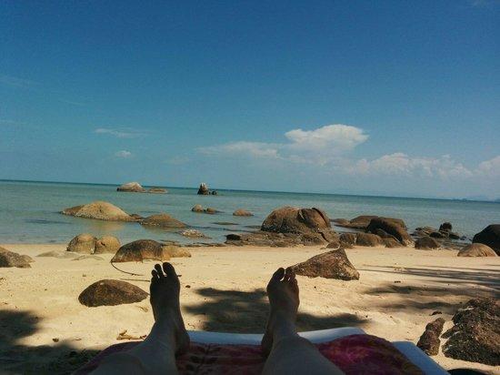 Lamai Bay View Resort: The beach
