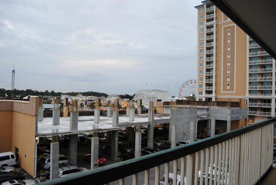 Westgate Myrtle Beach Oceanfront Resort: View from our room.