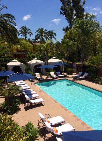 Rancho Valencia Resort & Spa: Adult only pool by the gym.  Total class, service and chill.