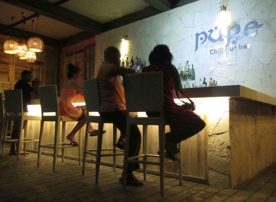 Catalonia Riviera Maya : Chill out bar at night