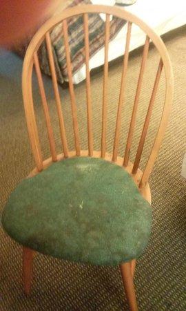 Grand Rapids Inn : Filthy dining chair
