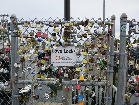 Commercial Street: Love Locks