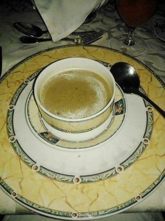 Terra Nova Hotel Restaurant: суп