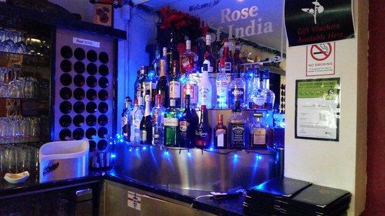 Rose of India: bar