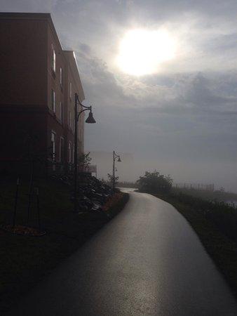 Hampton Inn Marquette/Waterfront : Amazing path