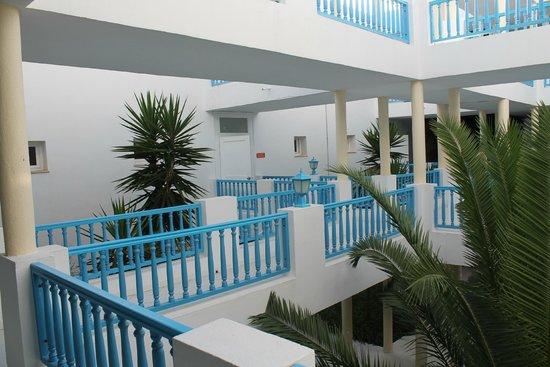 Club Eldorador Salammbo: accès chambre
