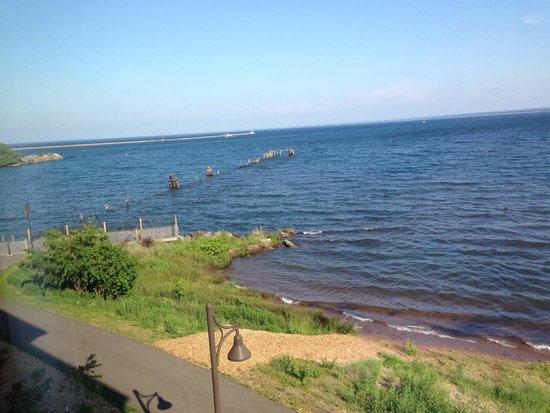 Hampton Inn Marquette/Waterfront: Wonderful view