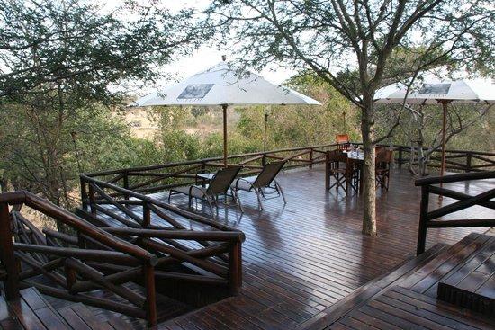 Naledi Game Lodges: Pool area