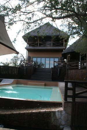 Naledi Game Lodges: View from pool area