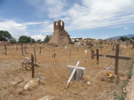 Taos Pueblo: The original church & cemetery.