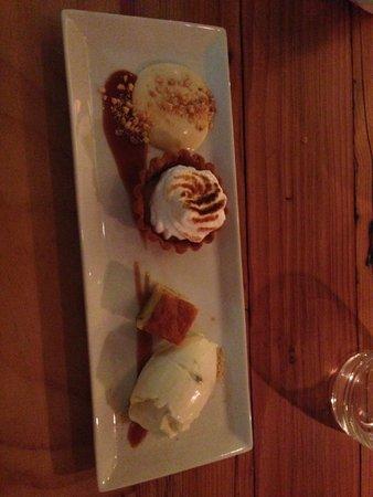 ah! Guest House: Dessert sampler - yum!