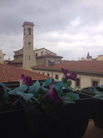 Mabelle Firenze Residenza Gambrinus: Vista para cidade do quarto