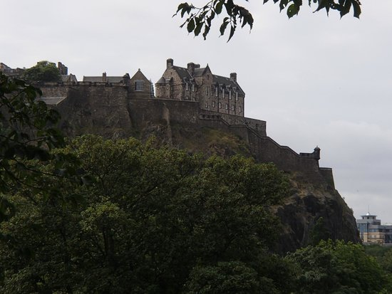 Princes Street Gardens : Great view of the Castle