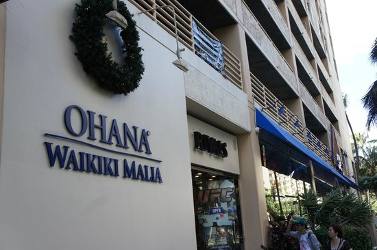 OHANA Waikiki Malia by Outrigger: 外観