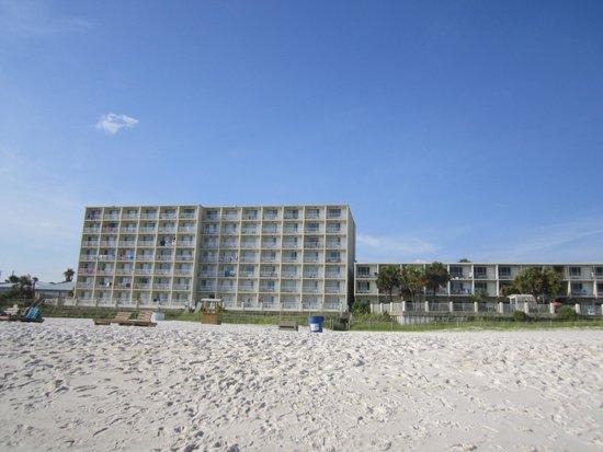Beachside Resort Panama City Beach : backside of hotel