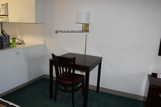 Extended Stay America - Cincinnati - Covington: Table