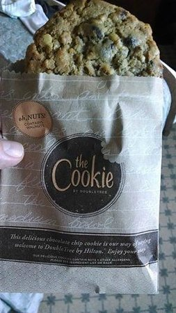 DoubleTree by Hilton Hotel Philadelphia - Valley Forge: The cookie