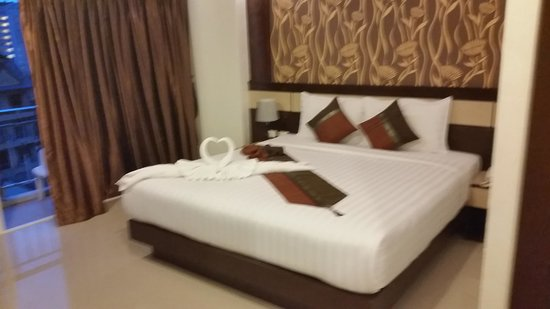 Patong Mansion Hotel : Nice comfortable room