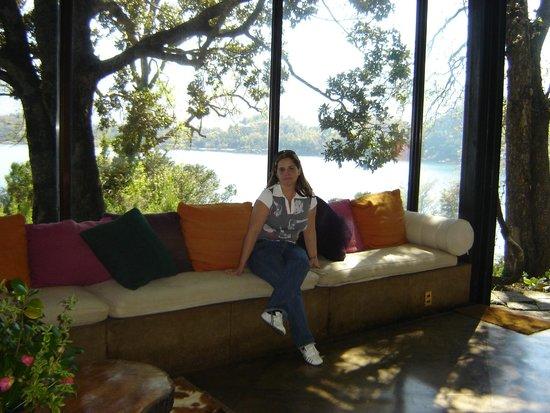 Hotel Antumalal: lounge do hotel