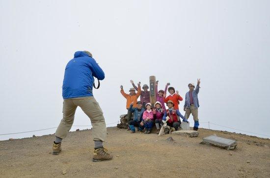 Mt. Asahidake : Asahi-dake1-Reached the summit