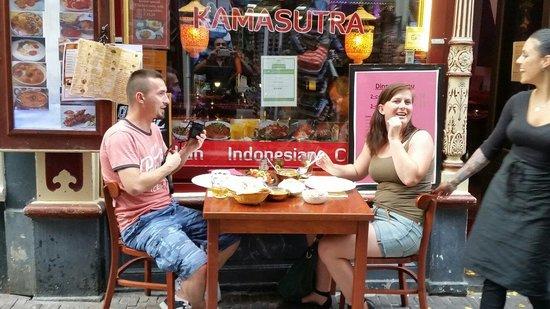 Indian Restaurant Kamasutra: Nice food