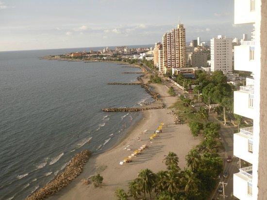 Decameron Cartagena: Vista desde la habitación