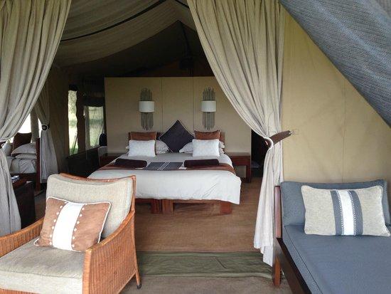 Naboisho Camp, Asilia Africa: Inside Tent #1