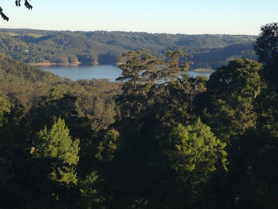 Montville Misty View Cottages: View from our Balcony - Stunning