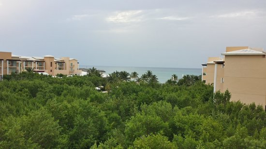 Now Jade Riviera Cancun : View from our room (not an ocean view suite)