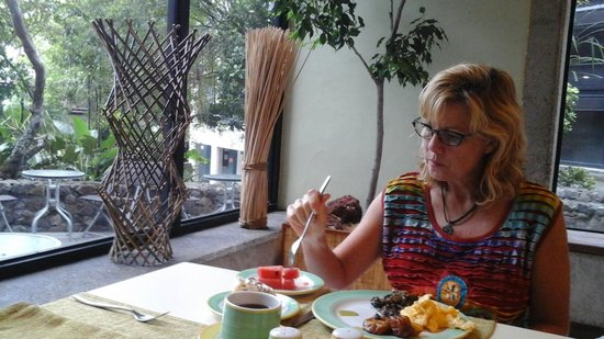 Radisson Hotel San Jose Costa Rica: Breakfast.