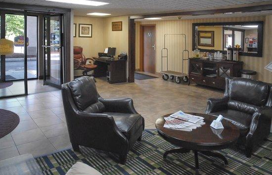 BEST WESTERN Meander Inn: Lobby