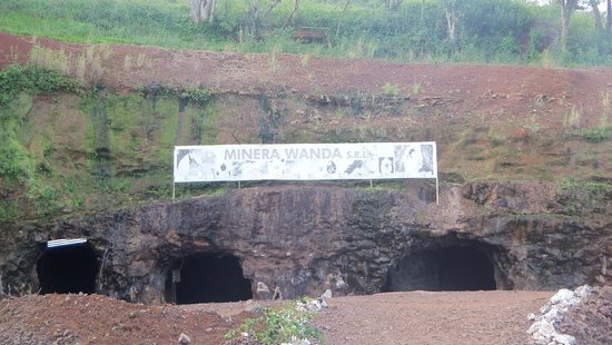 Wanda Mines : Minas de Wanda - Ingreso a túneles